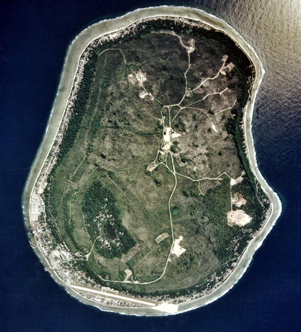 Nauru dari angkasa | wikipedia