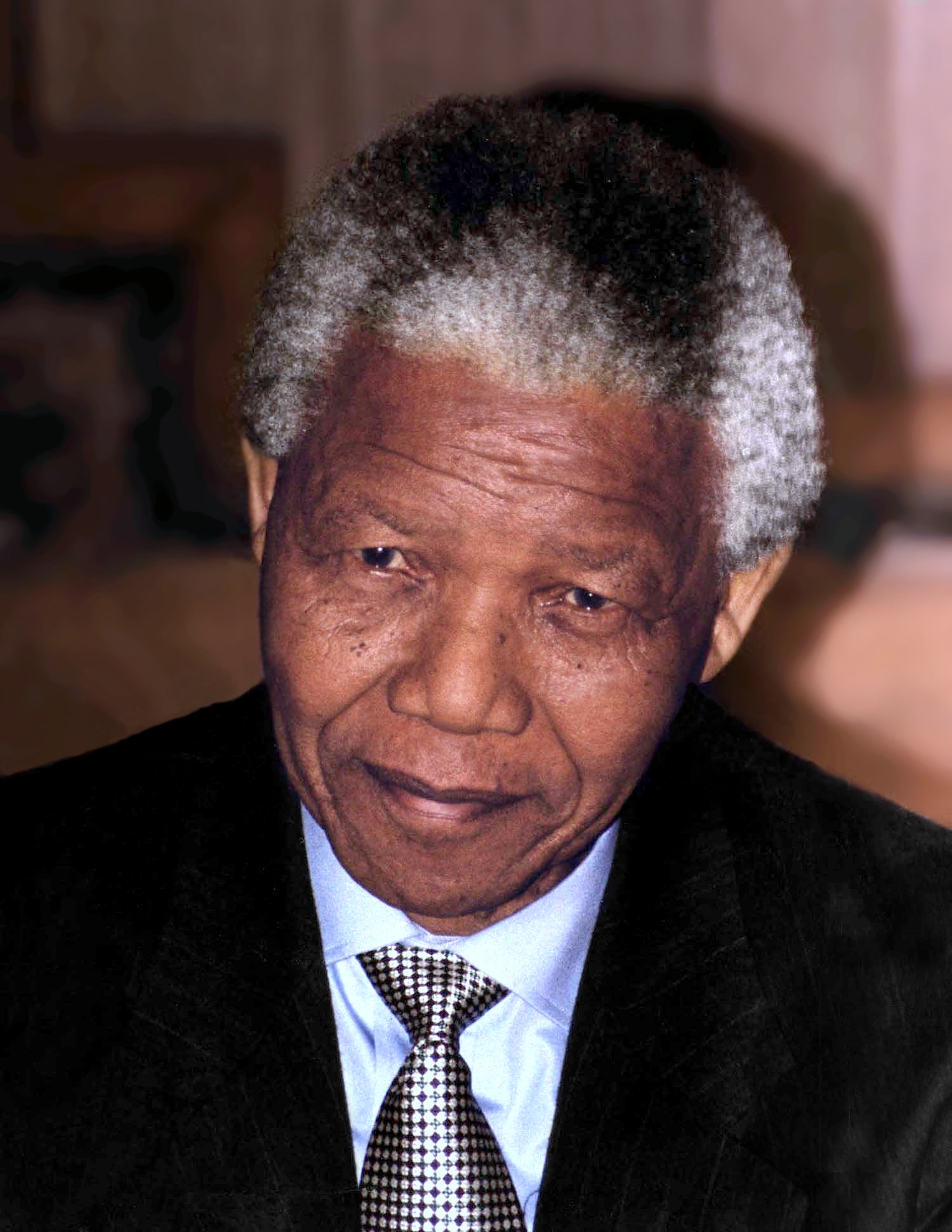 Mandela in [[Washington, D.C.]], 1994