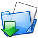 Fitxer:Nuvola filesystems folder download.png