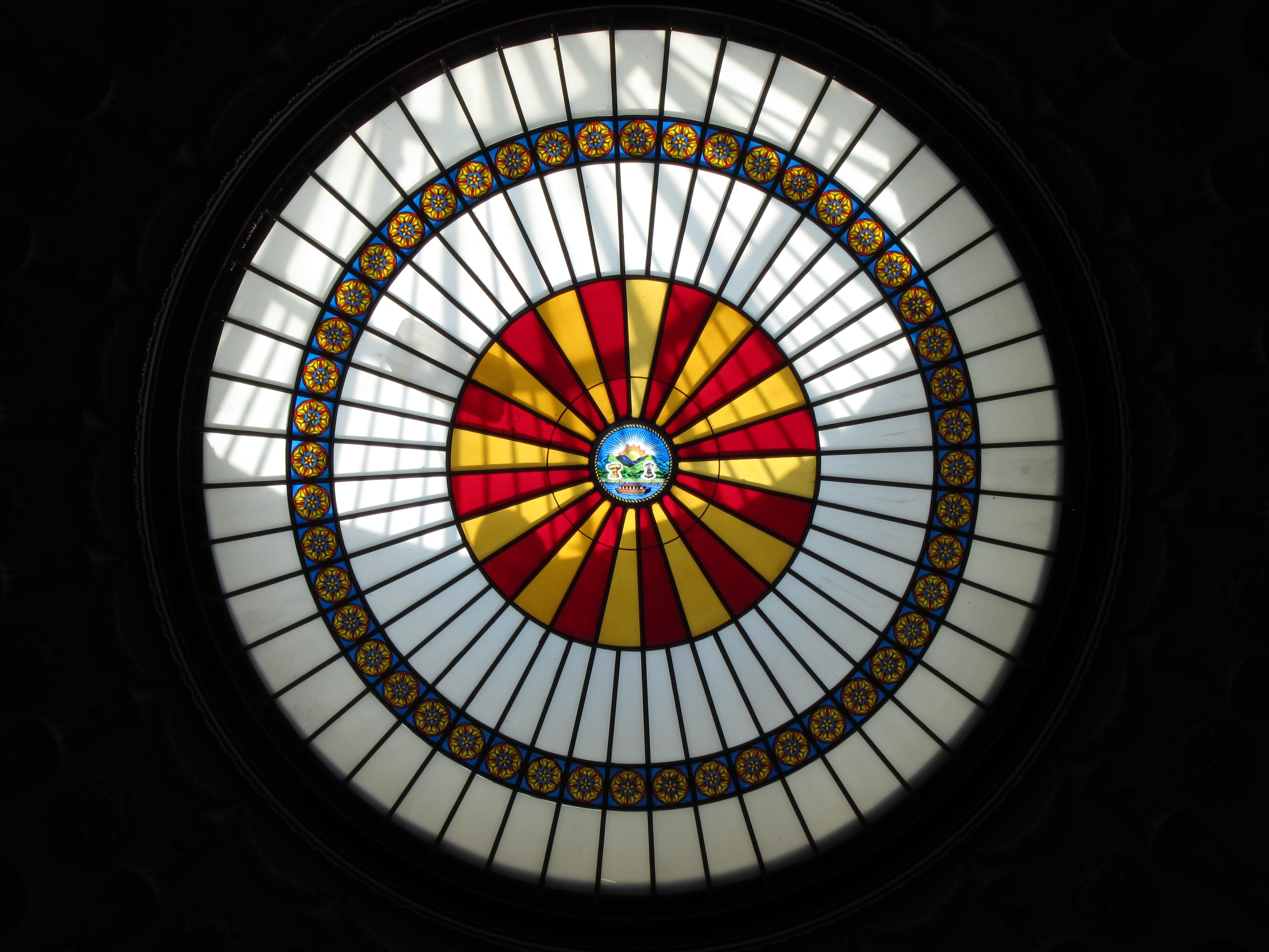 File Ohio Statehouse Columbus Ohio Rotunda Skylight