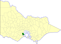 Shire of Corio Local government area in Victoria, Australia