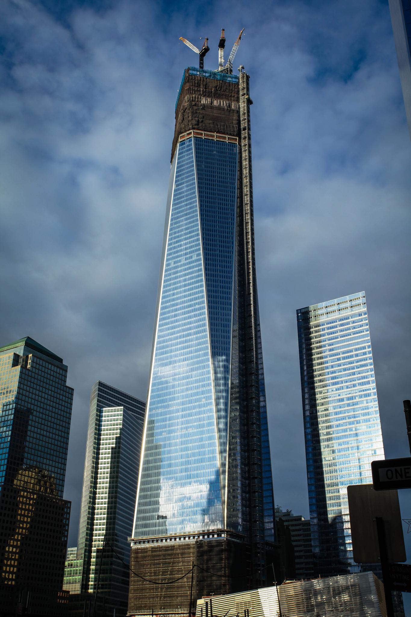 world trade center World trade center backround,construction,anticipated terrorist target.