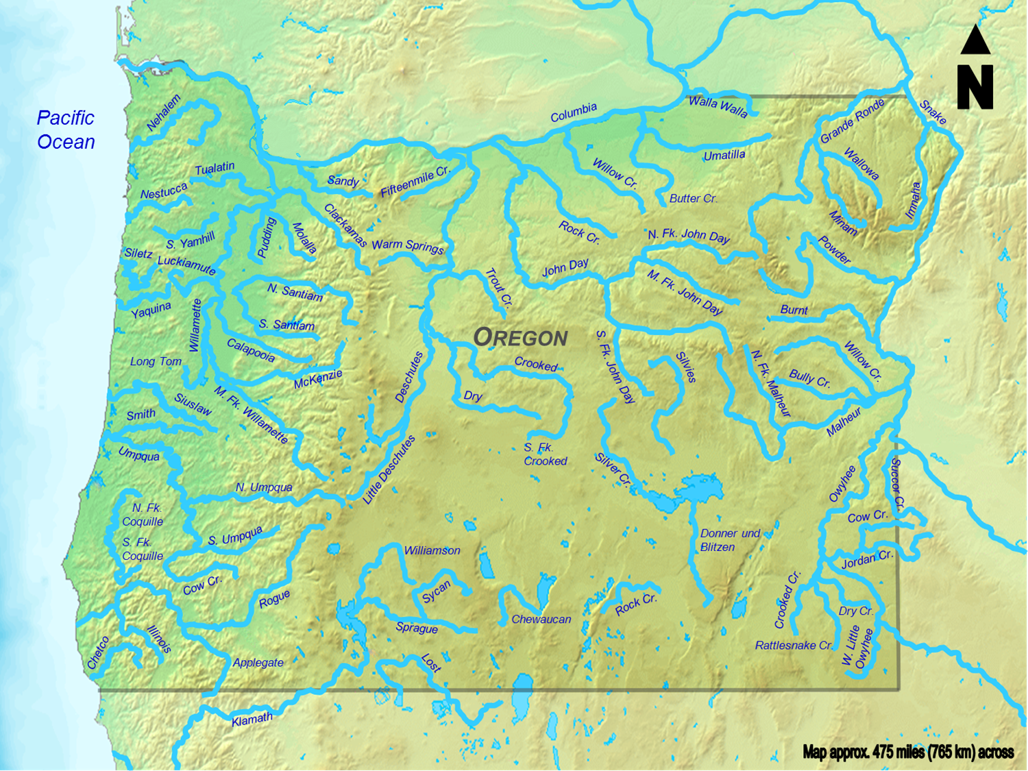 File:Oregon Rivers.png   Wikimedia Commons