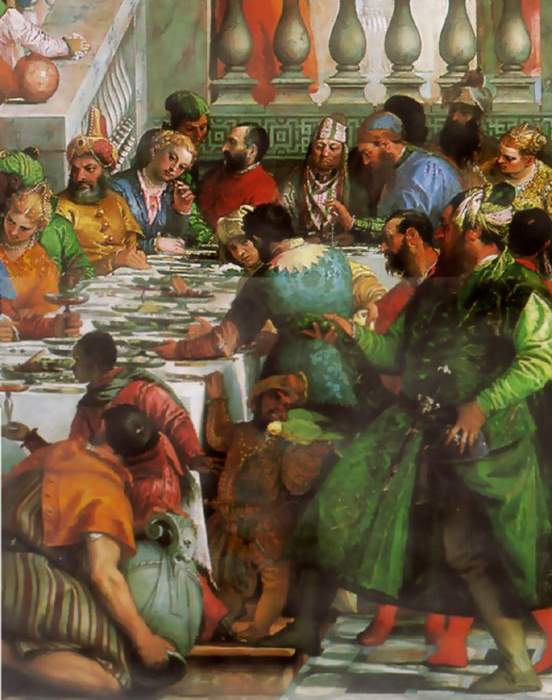 File:Paulo Veronese Marriage feast at Cana (Detail).jpg ...