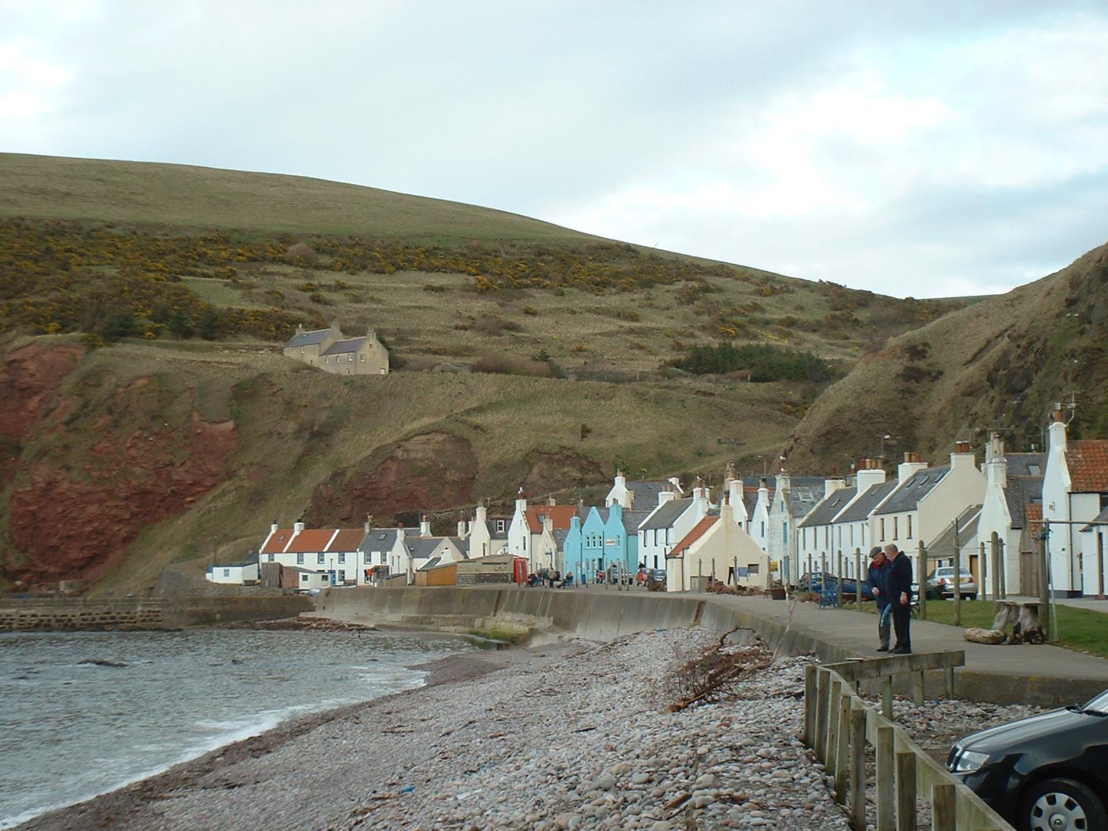 Image result for scottish fishing village
