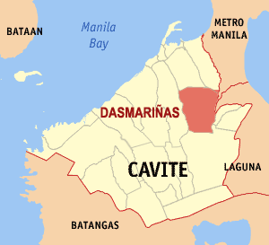 map of dasmariñas