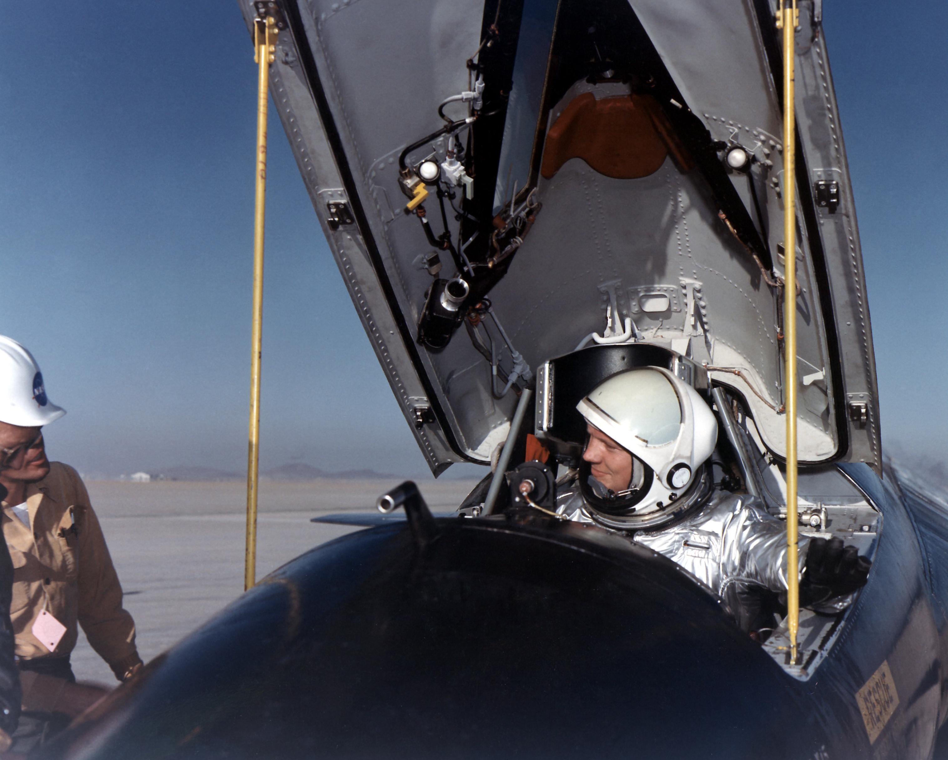 ... :Pilot Neil... X 15 Cockpit