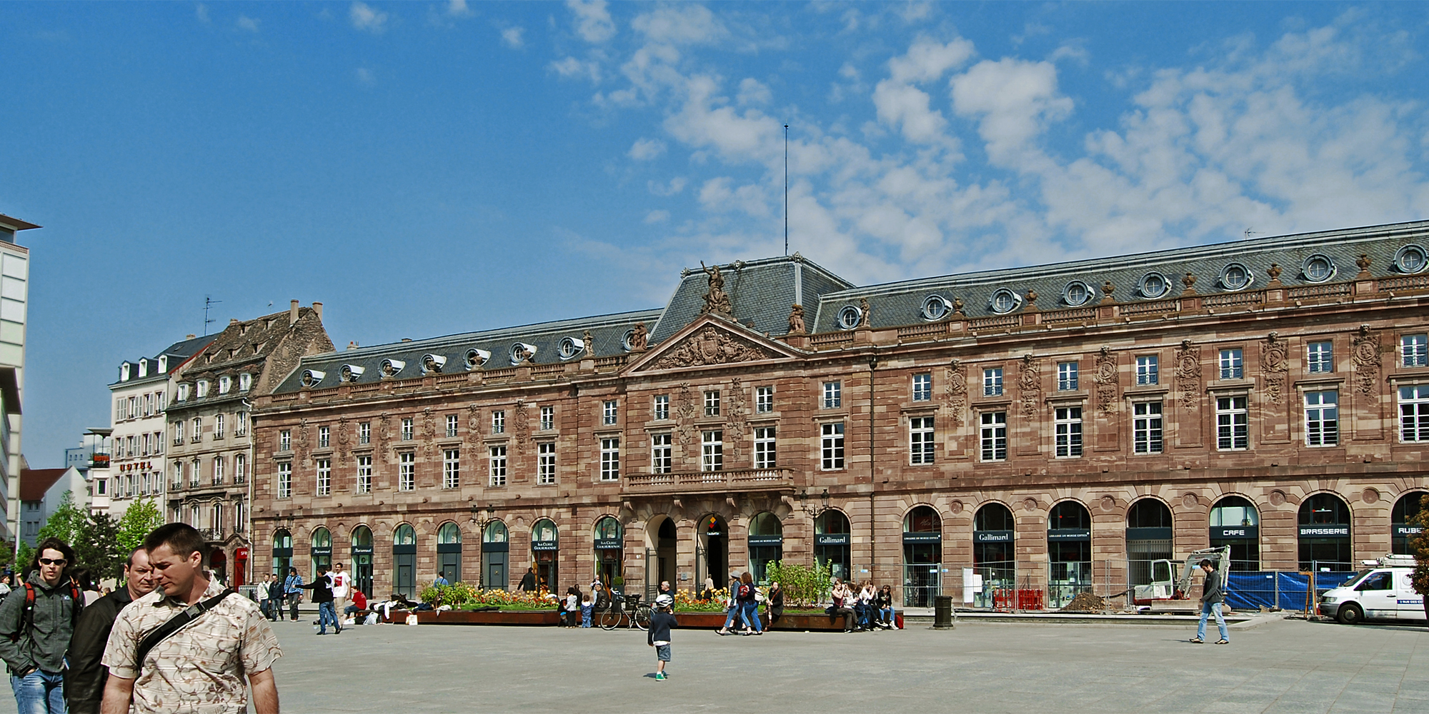 place kleber arm commons wikimedia