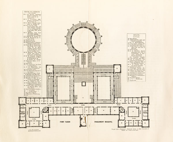 File Plan Of The Original Central Parliament