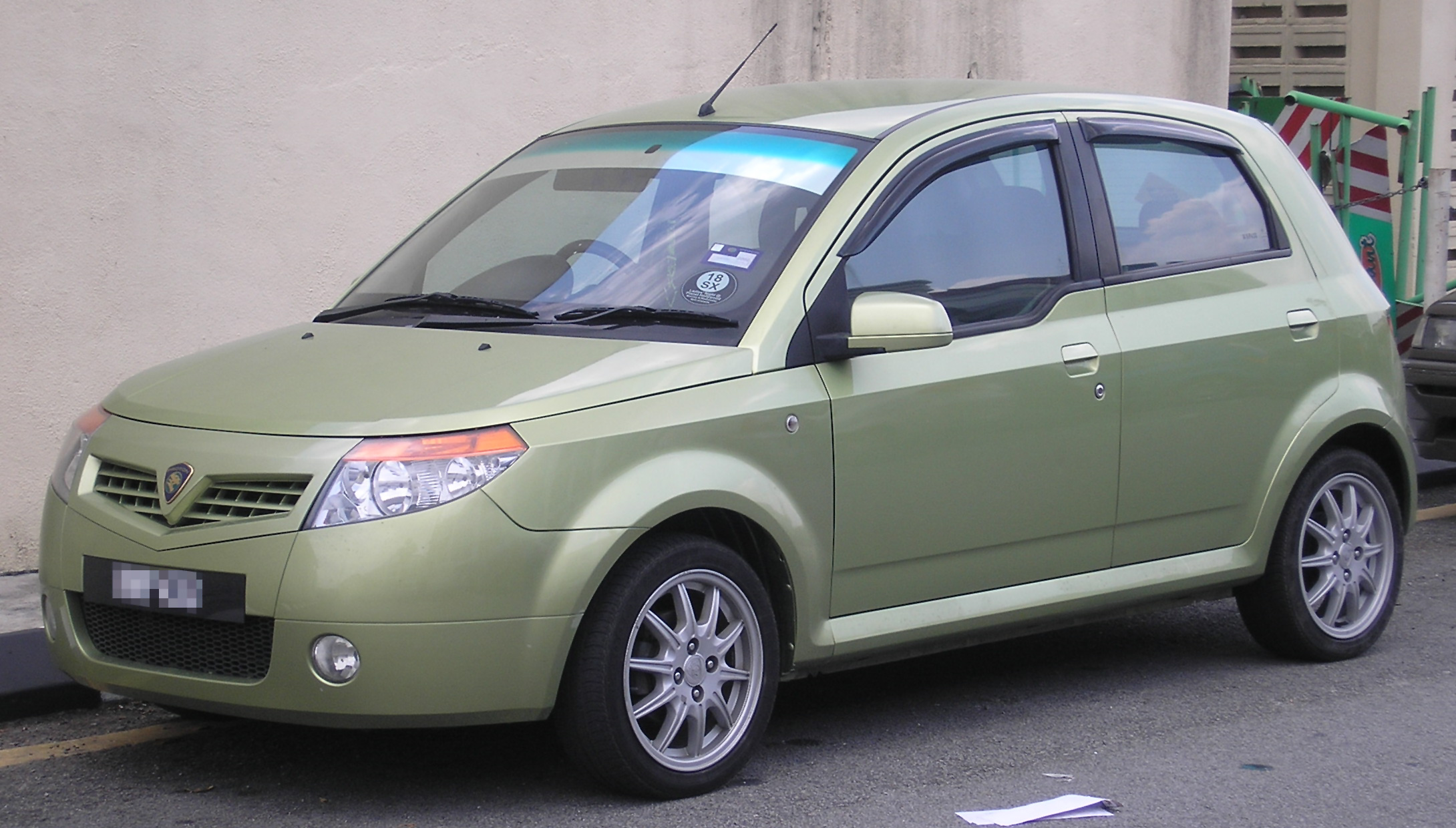 Car Reviews Proton Savvy