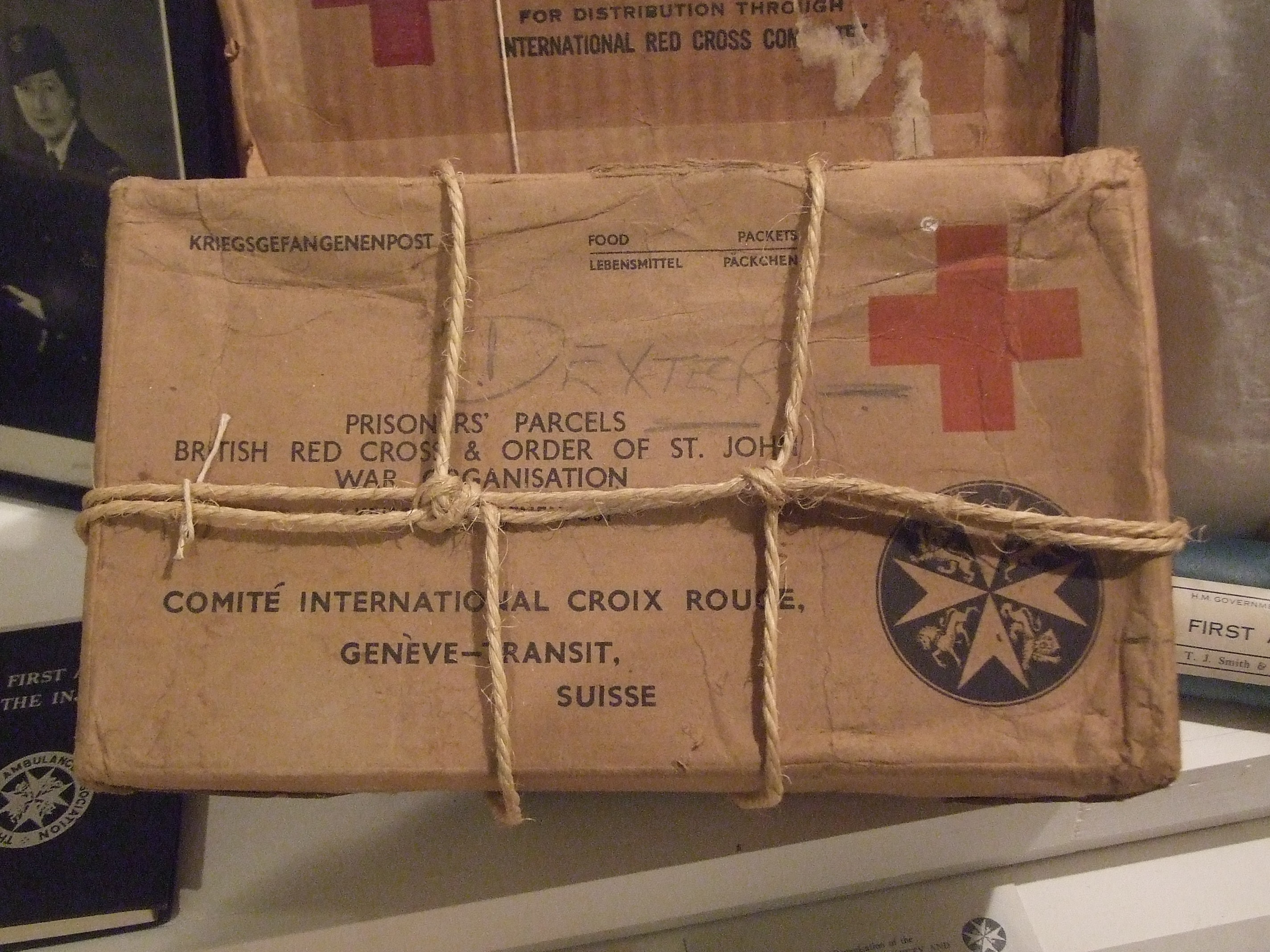 Red Cross parcel