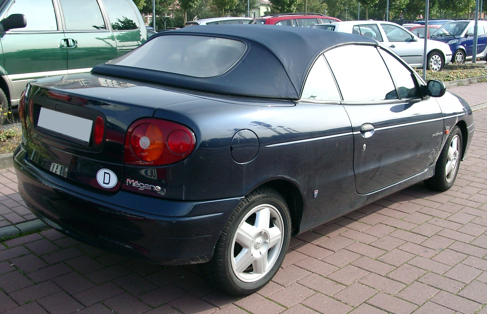 File Renault Megane Cabrio Rear 20071004 Jpg Wikimedia Commons