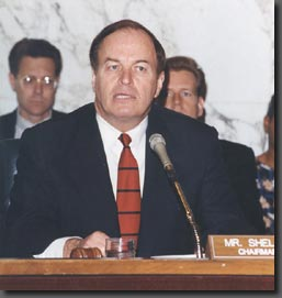 Senator Shelby as Chairman of the Senate Commi...