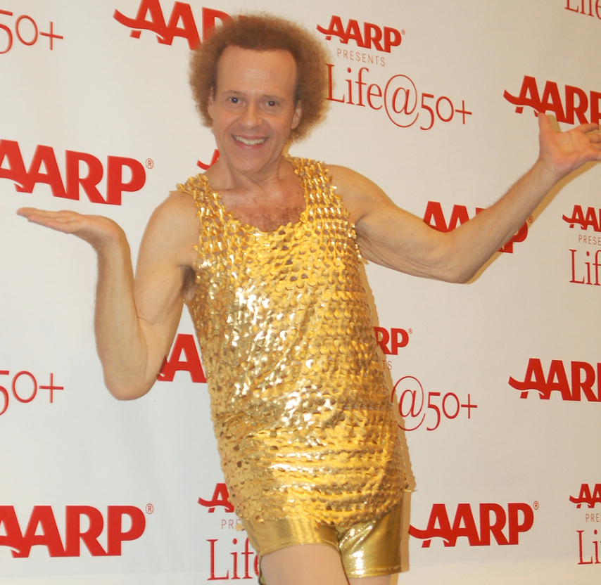 richard simmons workout costume. richard simmons workout costume