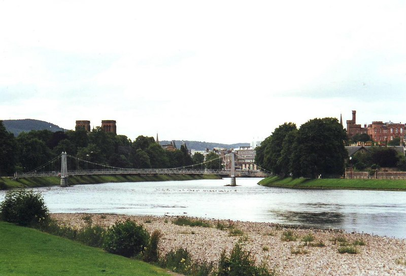 River Ness, Inverness - geograph.org.uk - 1969045