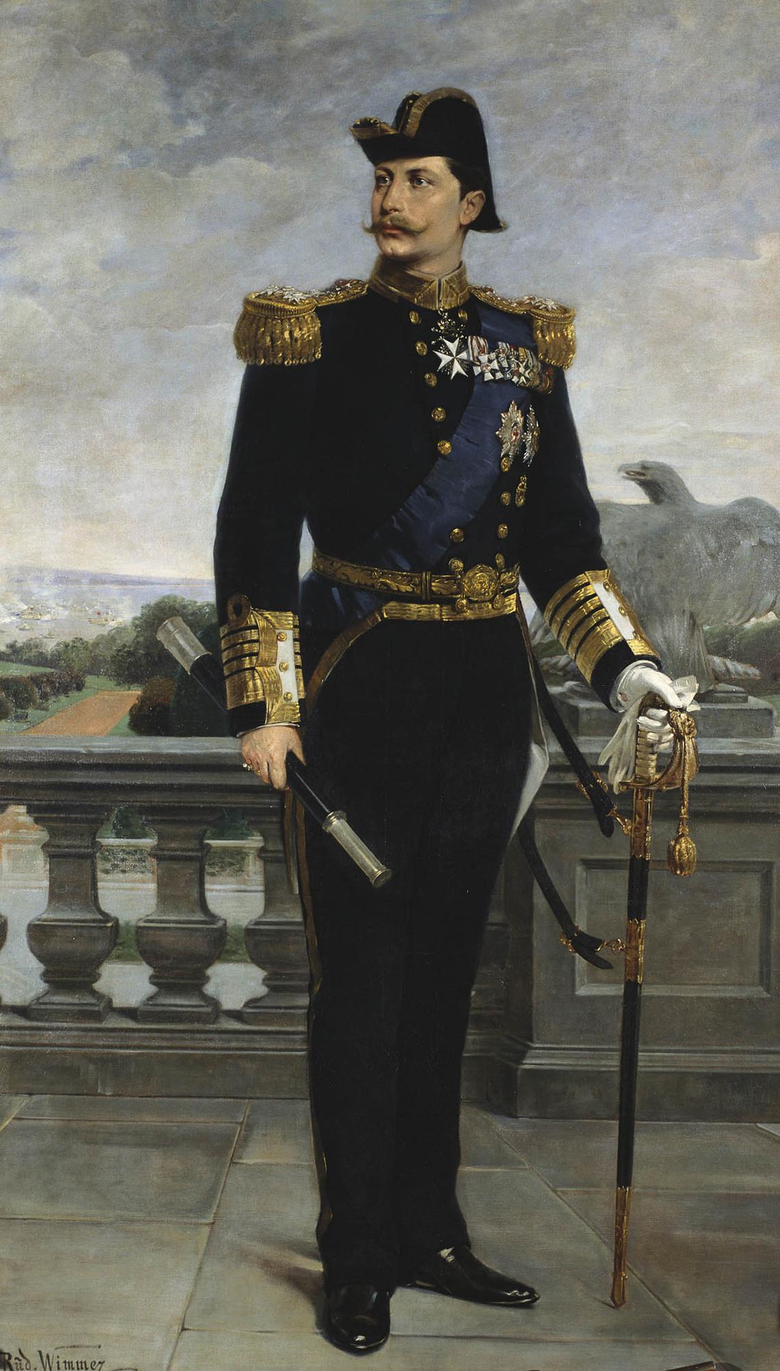 Depiction of Guillermo II de Alemania