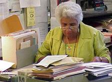 Ruth E. Hodge American archivist