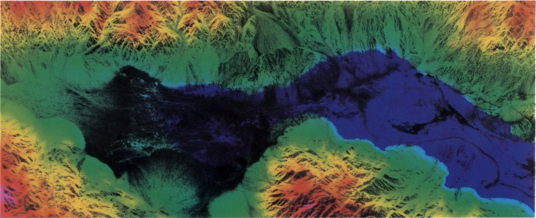 File:SIR C X SAR Death Valley Elevations.   Wikimedia Commons