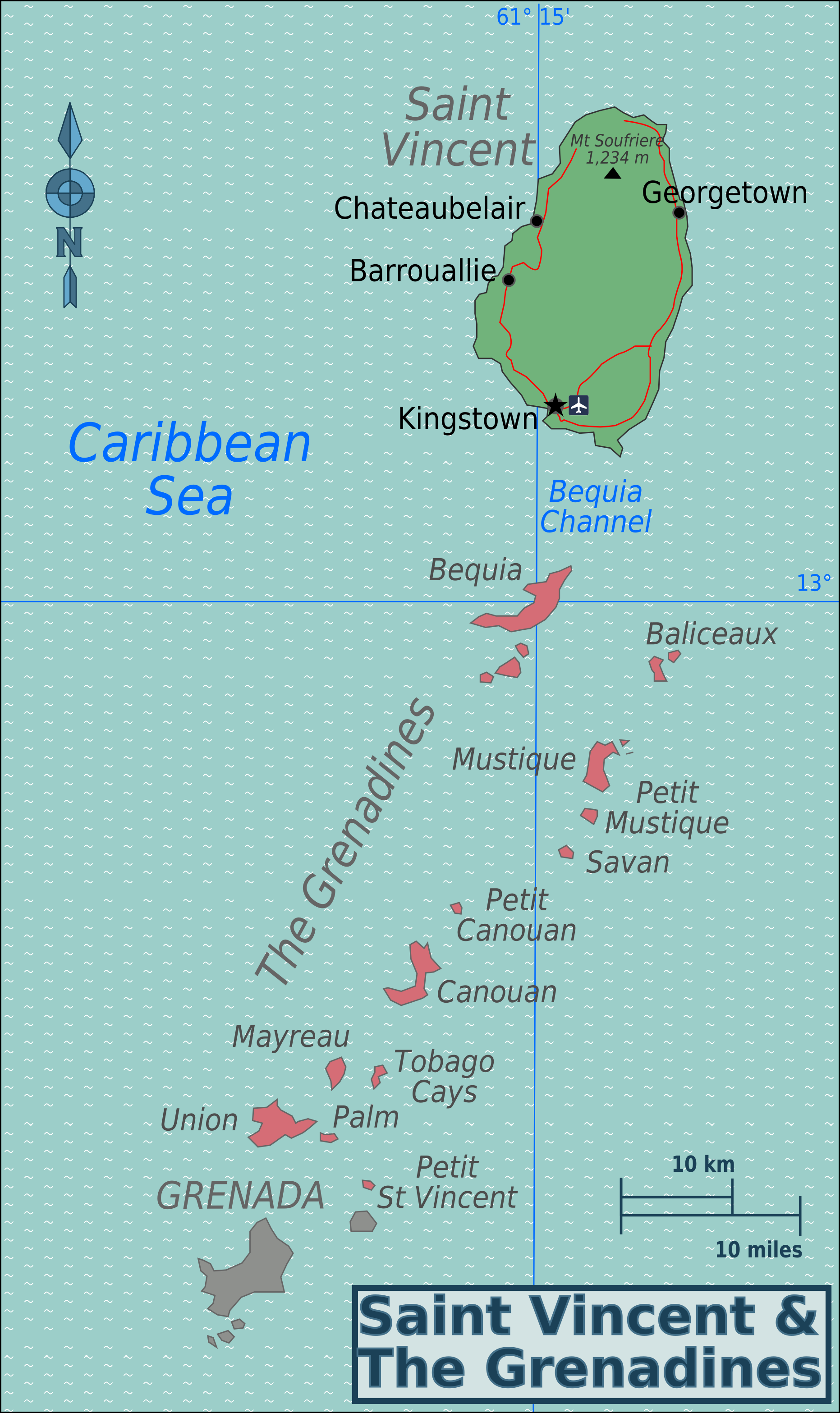 FileSaint Vincent Regions Mappng Wikimedia Commons - Saint vincent and the grenadines map