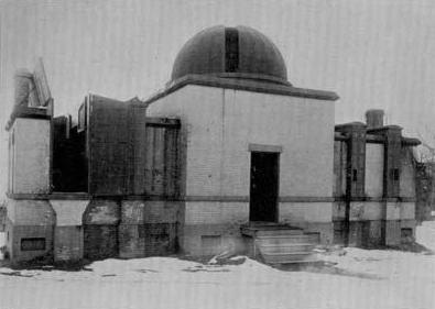 Sayre Observatory belonging to the University Sayre Observatory 1896.jpg