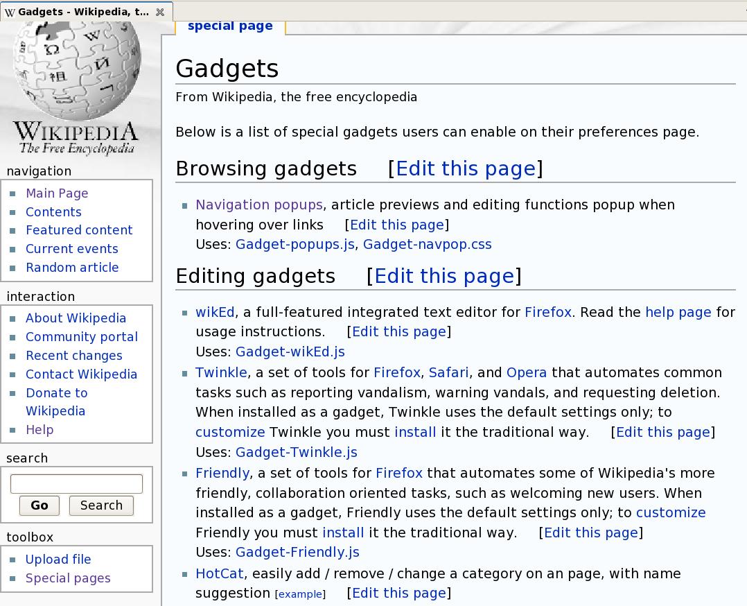 filescreenshot gadgets wikipedia the free encyclopedia