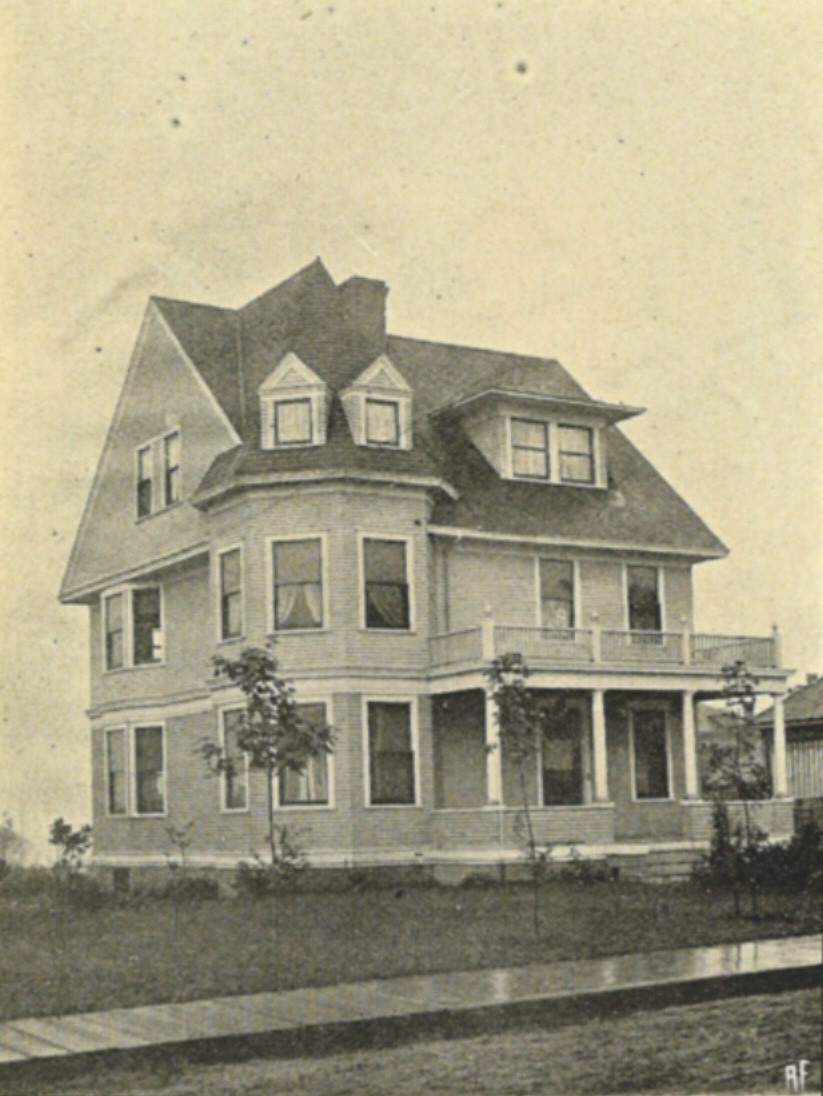 Houses completed in 1900 for Styles of homes built in 1900