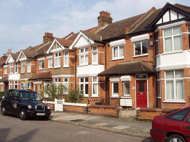 Semi Detached House file:semi-detached houses, messaline avenue, acton - geograph