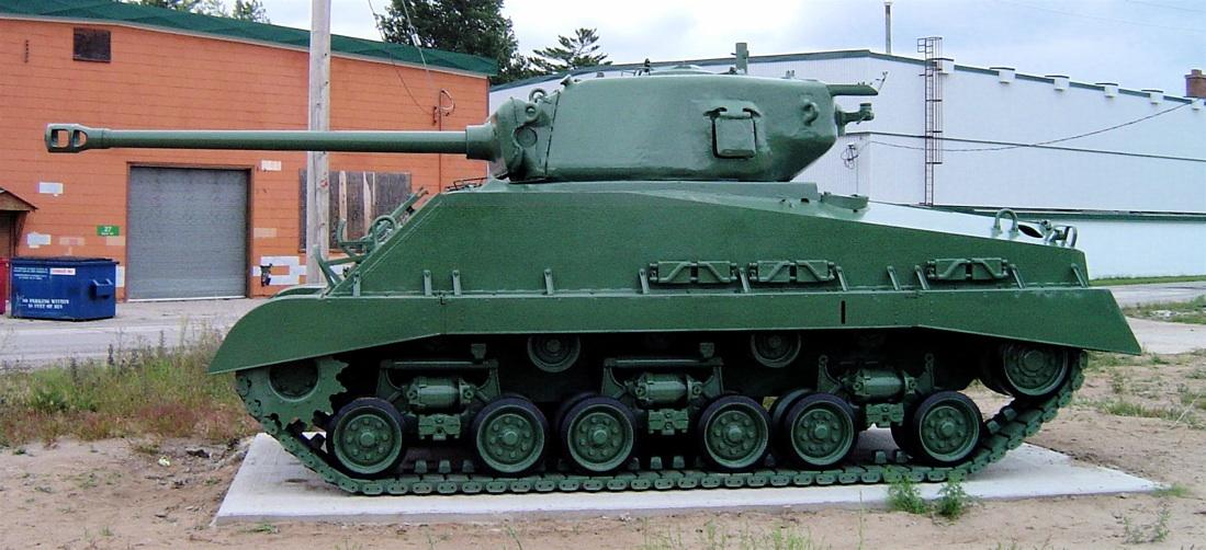 German 50 Mm Anti Tank Gun: File:Sherman M4a2e8 Cfb Borden 3.JPG