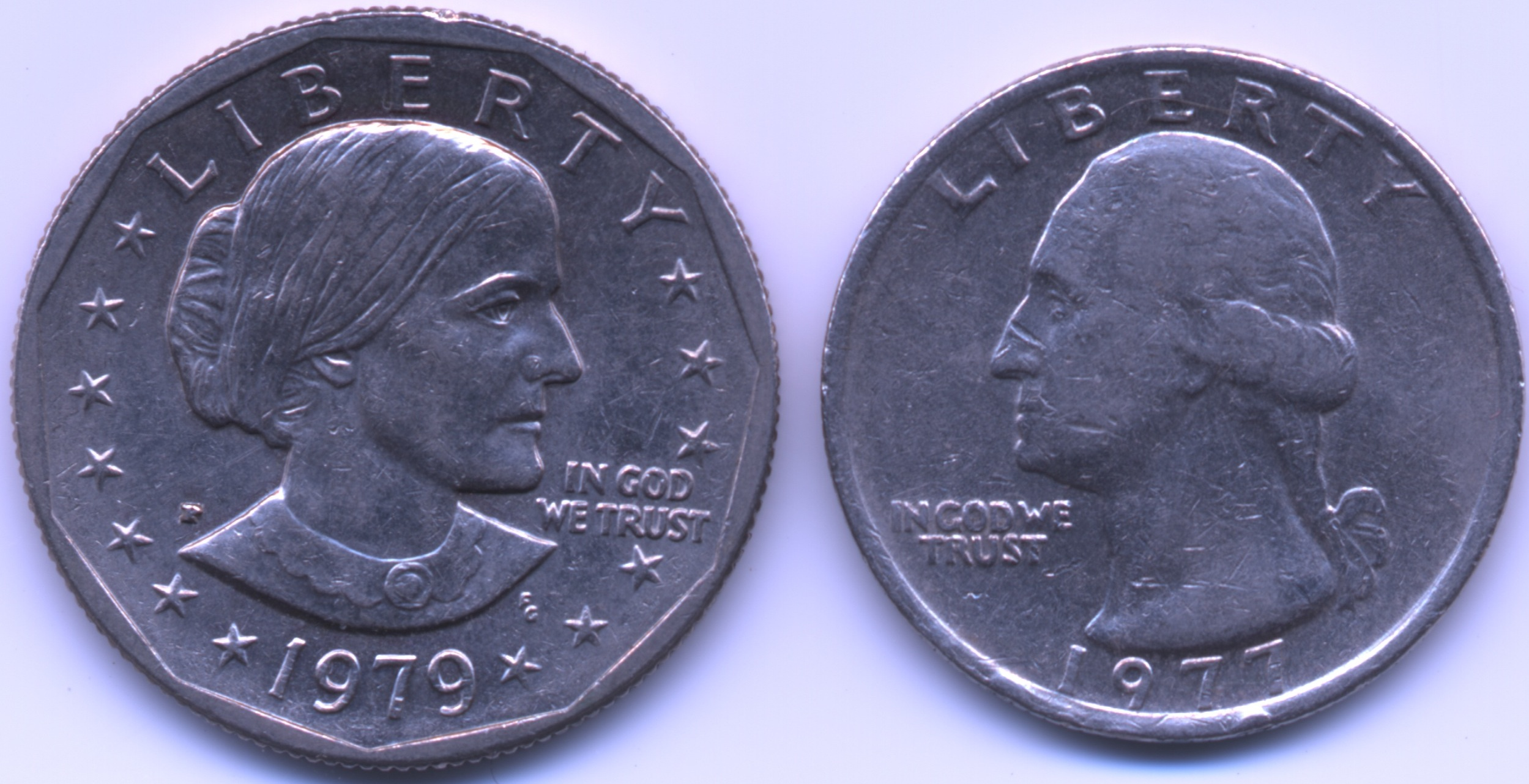 File Small Dollar And Quarter Comparison Jpeg Wikimedia