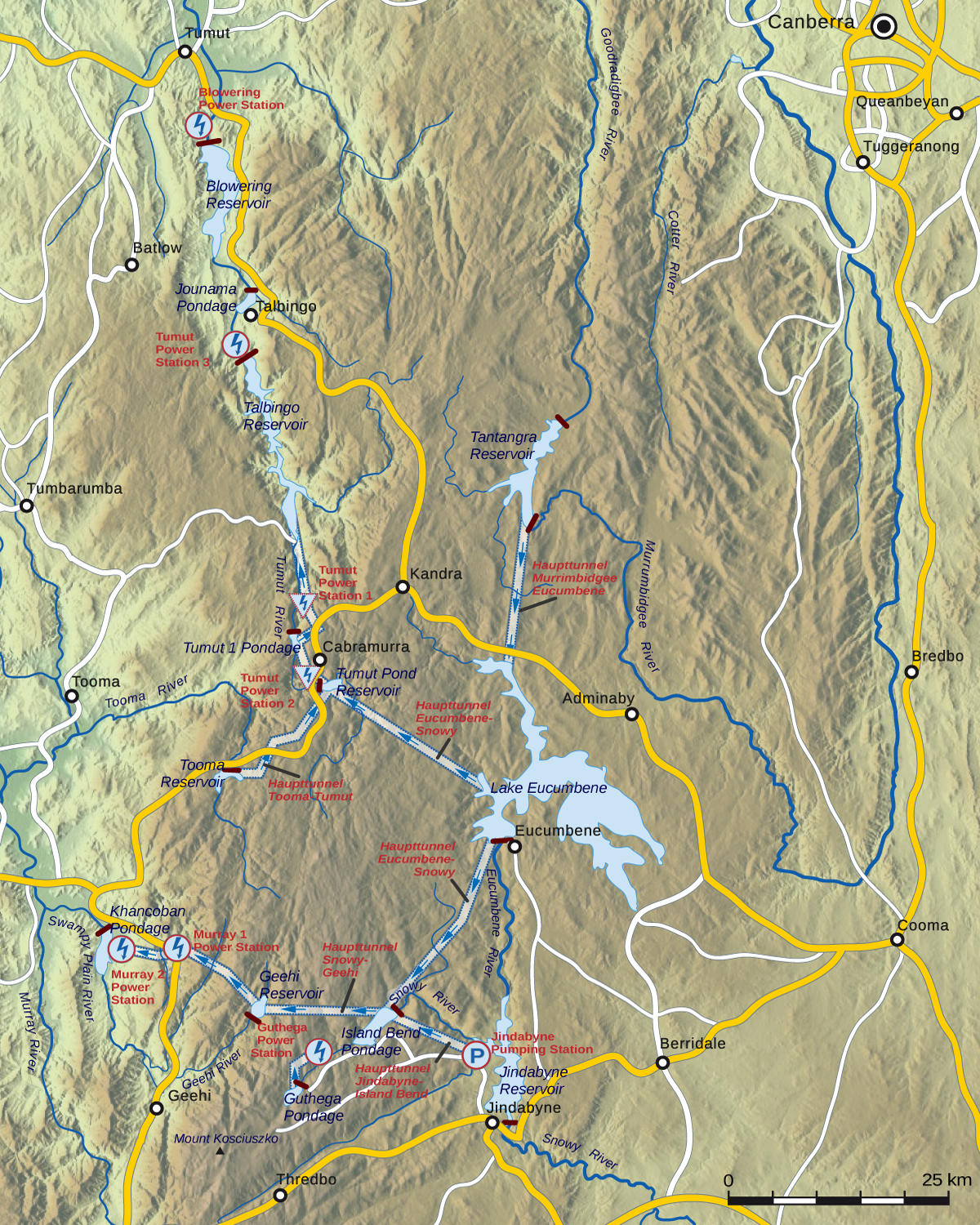 Snowy Mountains Scheme  Wikipedia