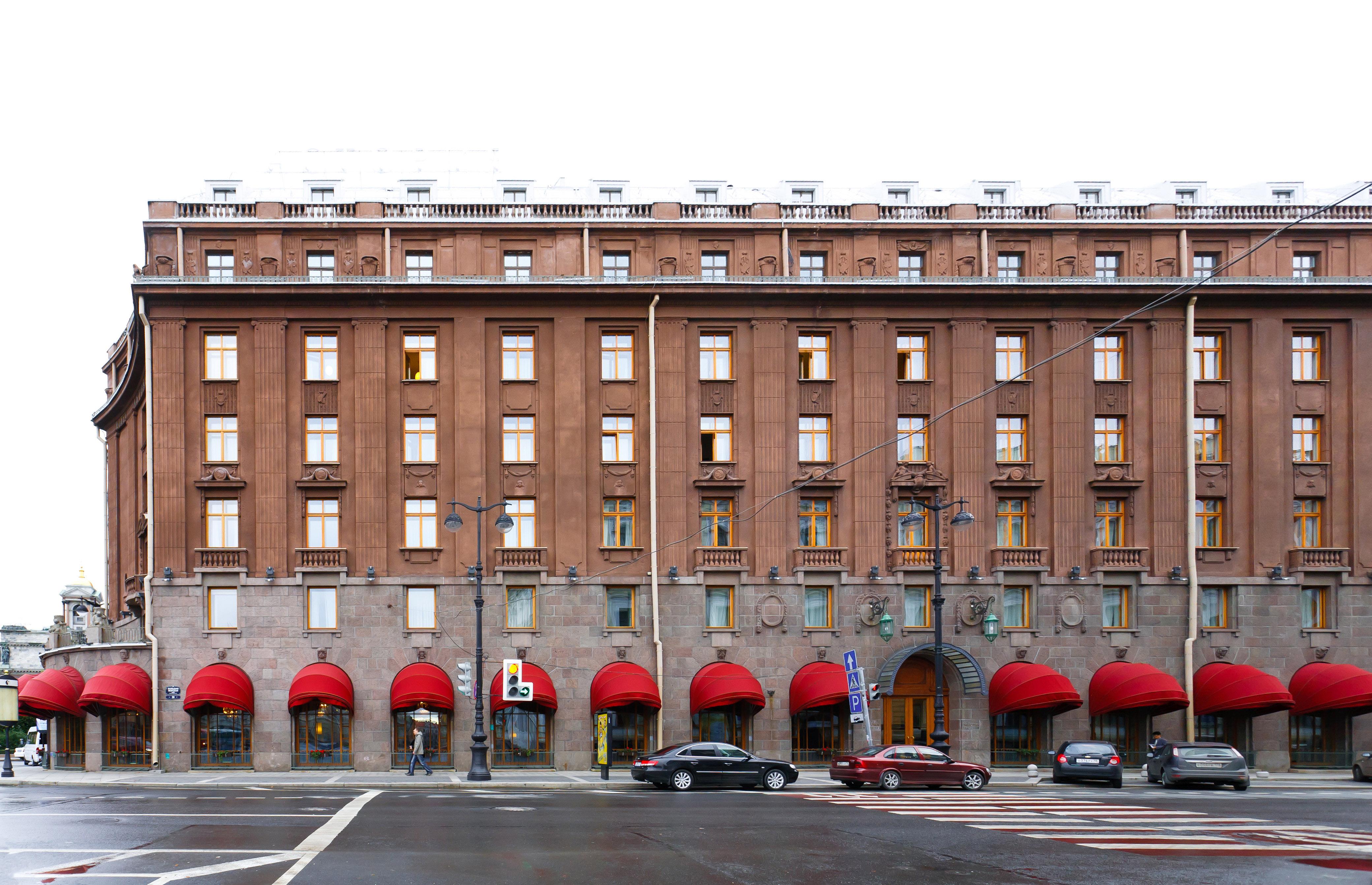 Astoria Hotel St Petersburg History