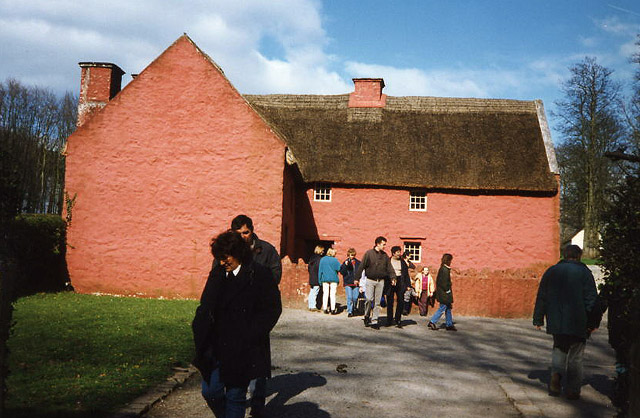 File St Fagans Museum Of Welsh Life Kennixton Farmhouse