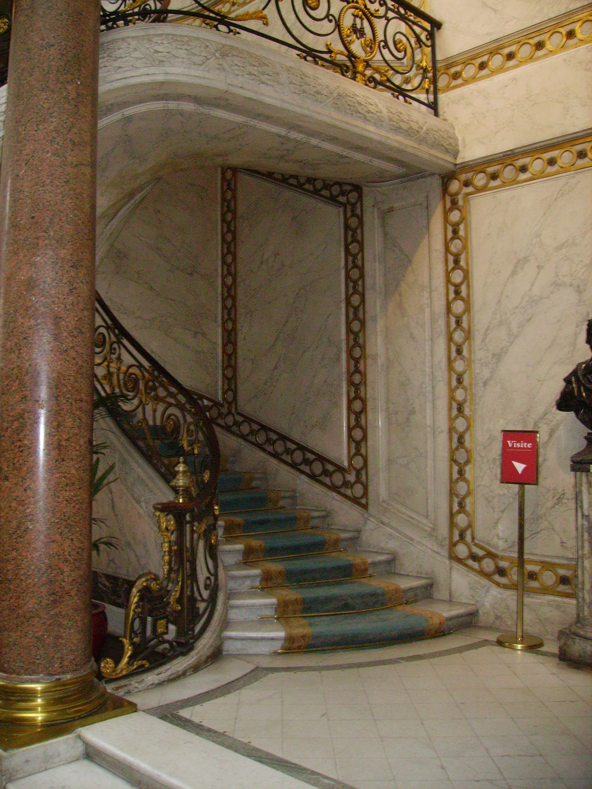 file staircases in mus e jacquemart andr jpg wikimedia. Black Bedroom Furniture Sets. Home Design Ideas