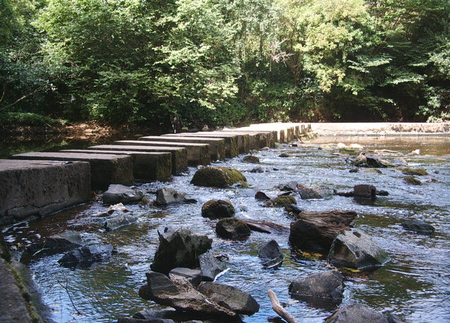 Stepping Stones, Bothal - geograph.org.uk - 363942
