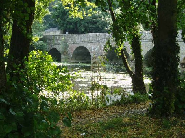 Stone Bridge at Blandford Forum - geograph.org.uk - 79920
