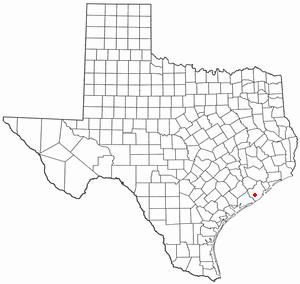Brazoria, Texas City in Texas, United States