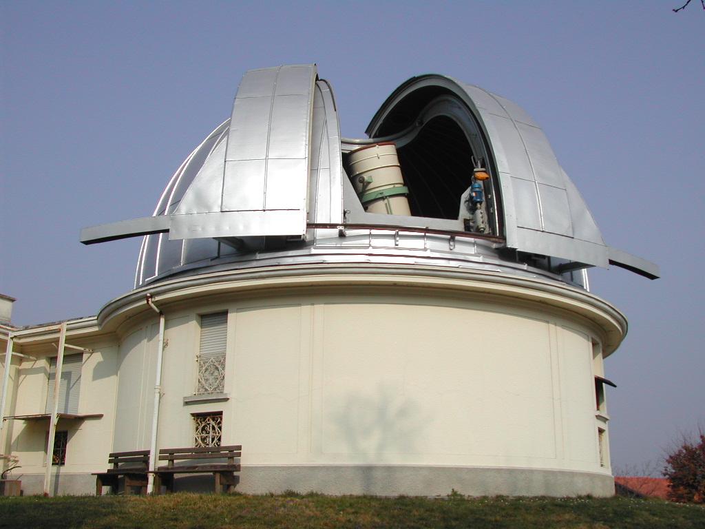 Telescopio Zeiss dell'Osservatorio Astronomico di Merate, vista esterna della cupola