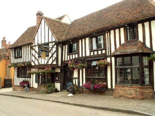 The Bell Inn at Kersey, Suffolk - geograph.org.uk - 113372