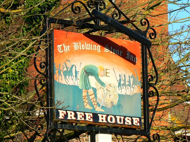 The Blowing Stone Inn, Kingston Lisle - geograph.org.uk - 666975