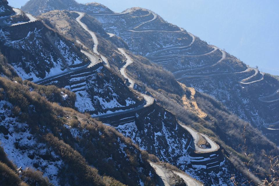 Old Silk Route as part of honeymoon in Sikkim