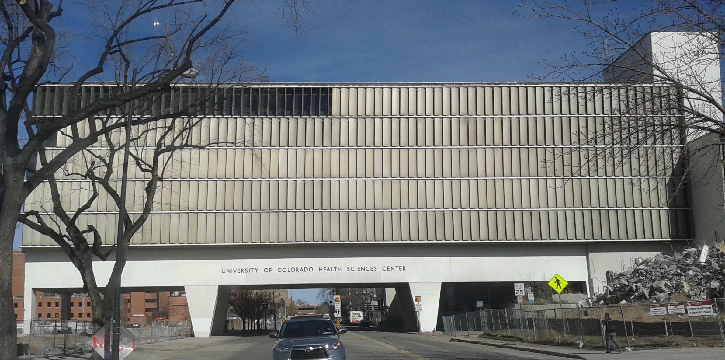 University Of Colorado Health Sciences Center >> File The Former University Of Colorado Health Sciences Center April