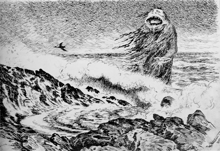 Theodor Kittelsen - Sjøtrollet, 1887 (The Sea Troll).jpg