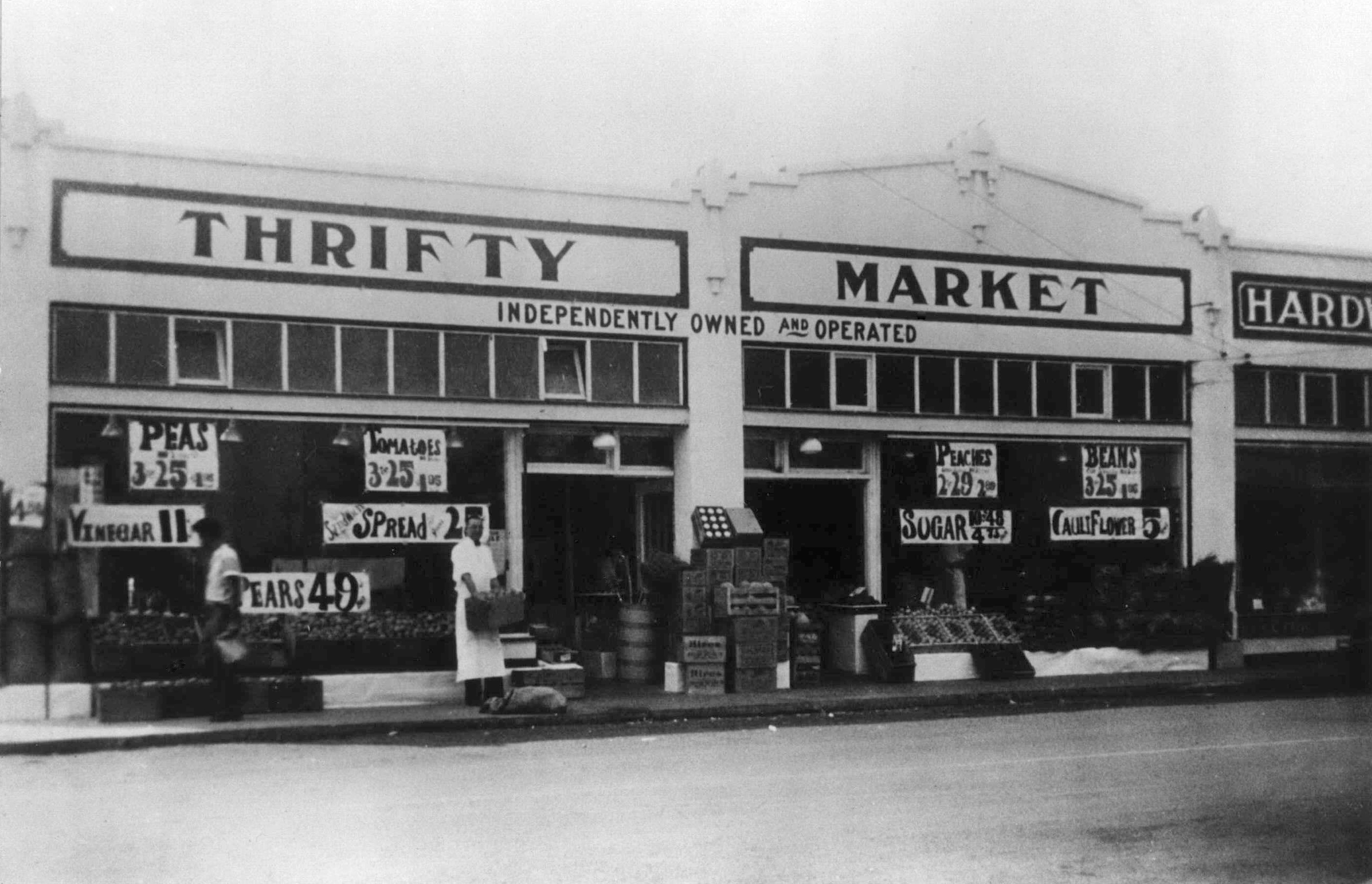 File:Thrifty Market, 1930's (Beaverton, Oregon Historical