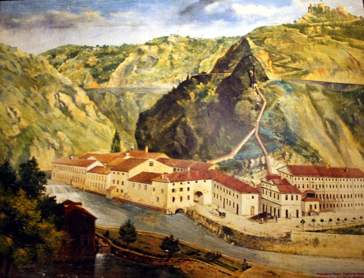 Art color rijeka - File Tvornica Papira Rijeka 1880 Jpg