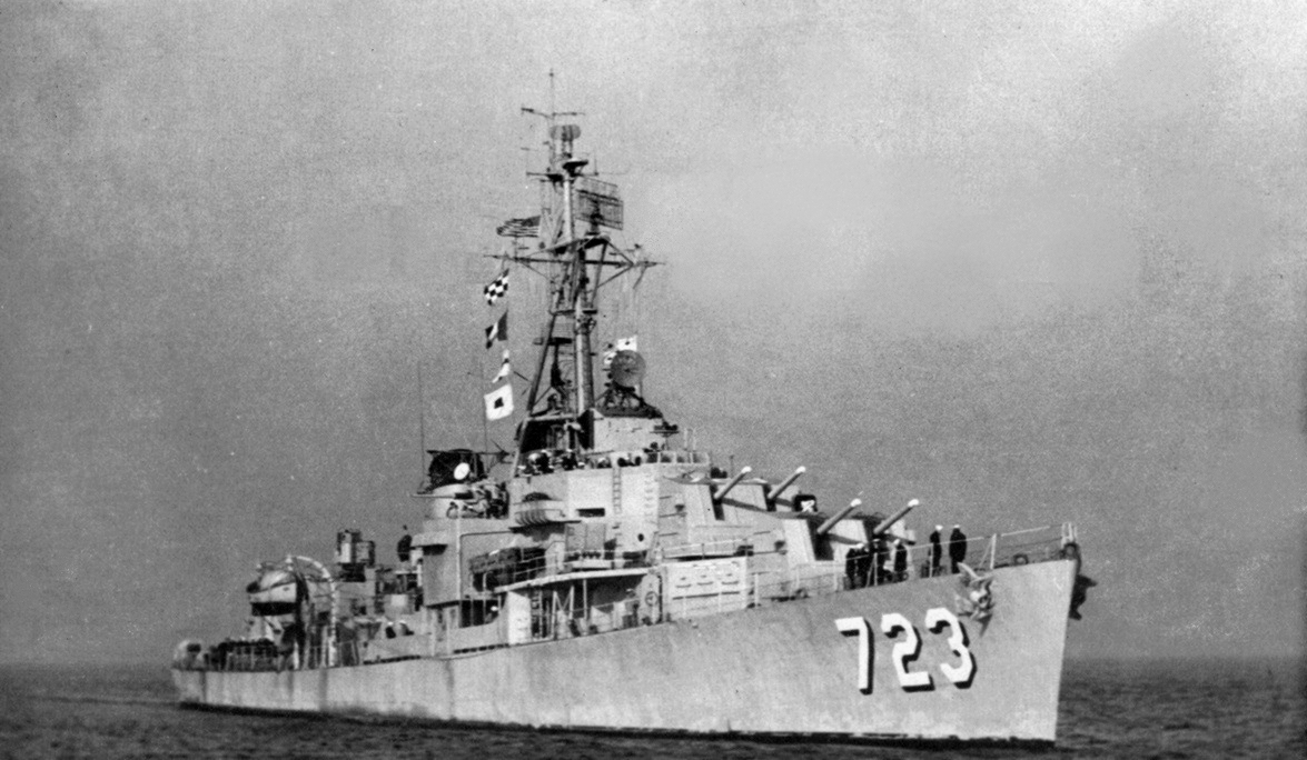File:USS Walke (DD-723) underway c1953.jpg