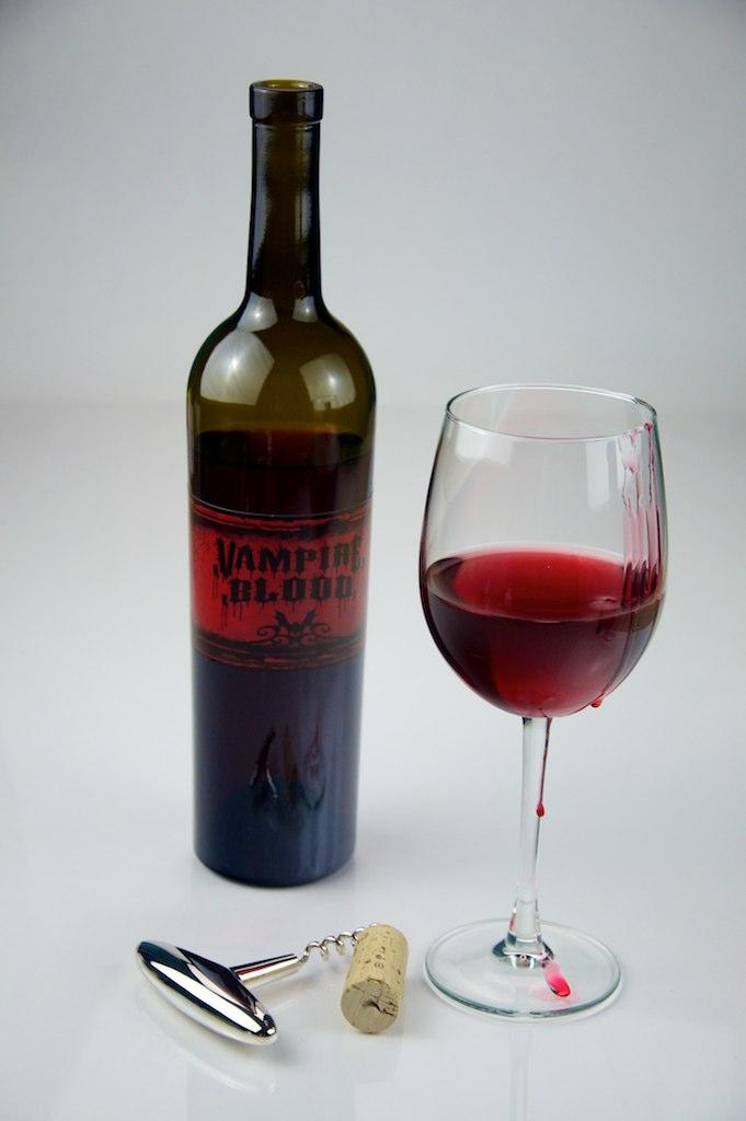 Drink Bottle Wine Glass
