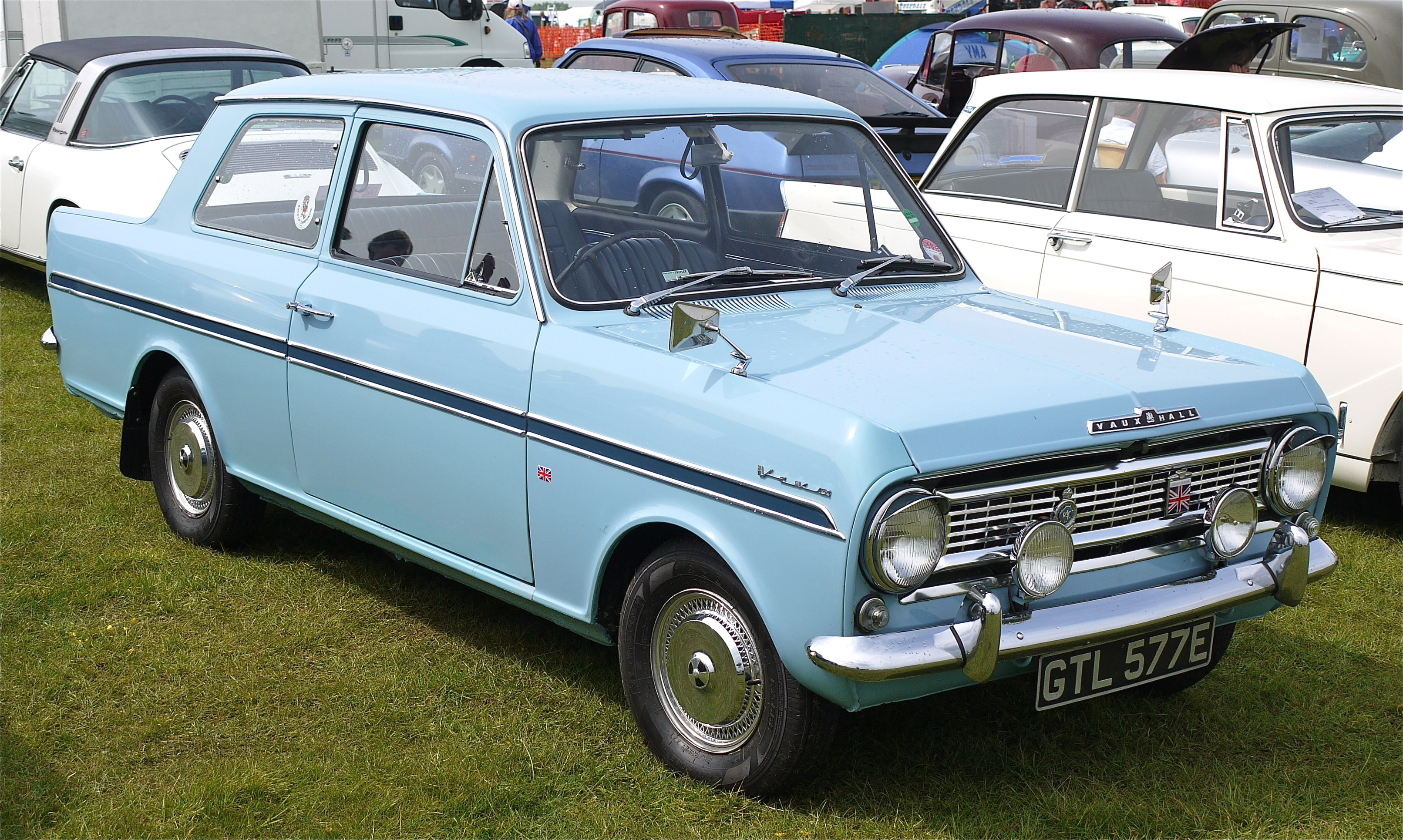 What Is Vauxhall White Paint Called