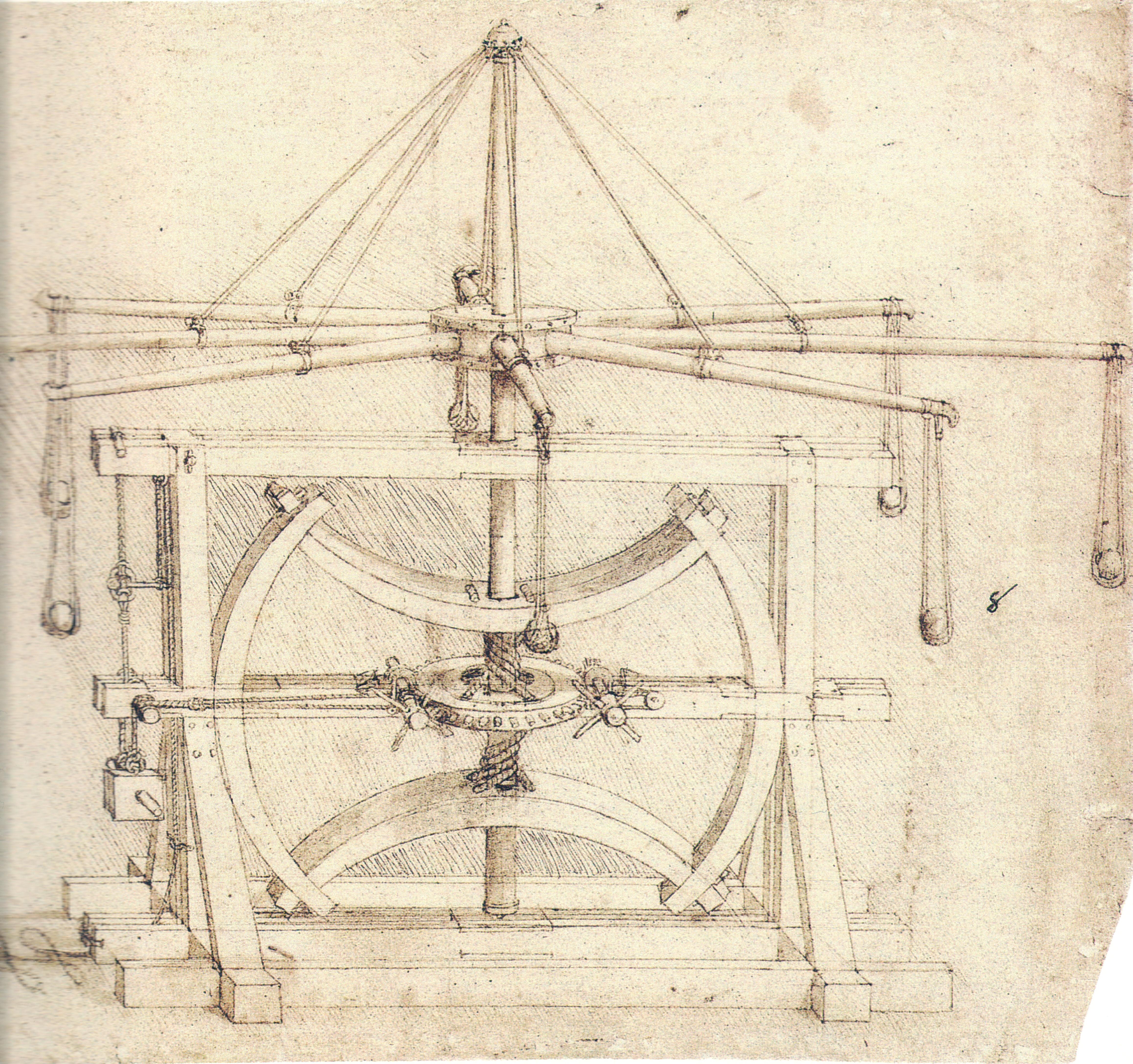 File:Vinci, Leonardo Da - Volano (meccanica).jpg ...