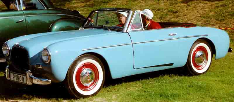 How To Learn How To Drive >> Volvo P1900 - Wikipedia