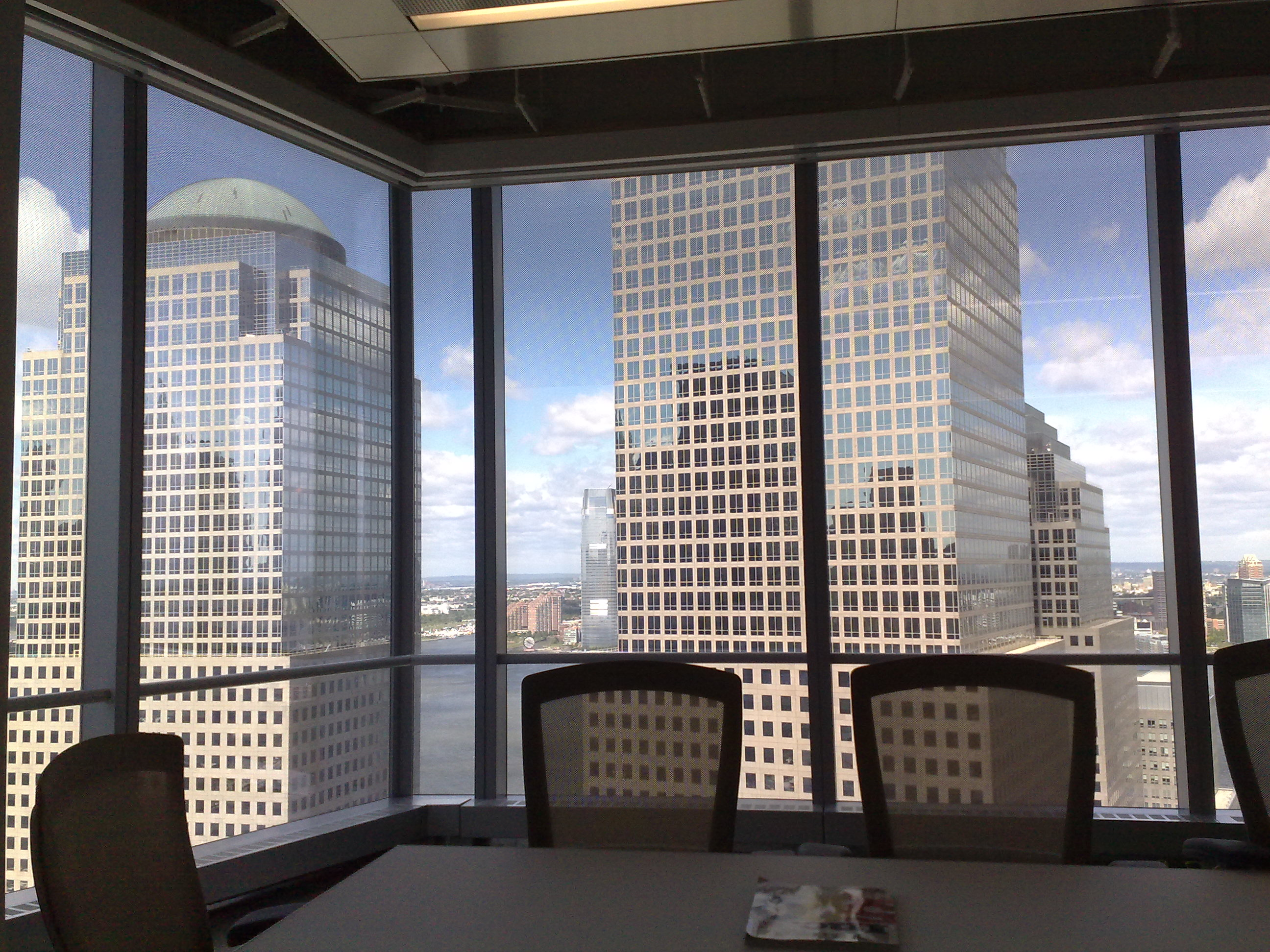 File world financial center from fast company office in for New window company